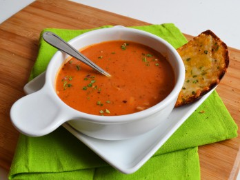 Siltā tomātu biezzupa