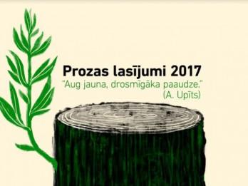 """Festivāls """"Prozas lasījumi 2017"""" šogad svin Andreja Upīša 140. dzimšanas dienu"""