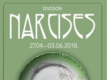 "Izstāde ""Narcises"" muzejā ""Rīgas Jūgendstila centrs"""