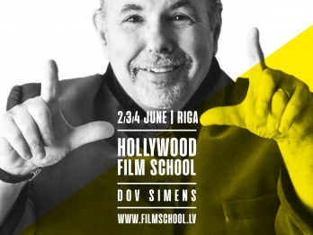 Rīgā gaidāms Holivudas kino industrijas pasniedzējs Dovs Simenss
