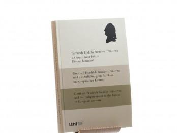 """Izdots starpdisciplinārs rakstu krājums """"Gothards Frīdrihs Stenders (1714–1796) un apgaismība Baltijā Eiropas kontekstā"""""""