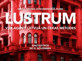 """8. novembrī - pirmizrāde režisora Ginta Grūbes dokumentālajai filmai """"Lustrum"""""""