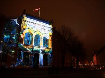 """Noslēdzies plaši apmeklētais gaismas festivāls """"Staro Rīga 2018"""""""