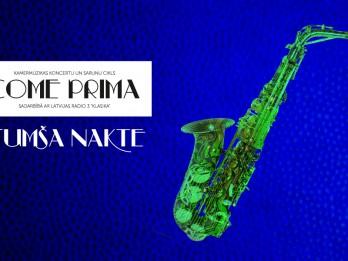 Latviešu tautasdziesmas jaunā skanējumā elektroakustiskā koncertā TUMŠA NAKTE