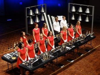 """Ziemassvētku festivāla īpašie viesi – zvanu ansamblis """"Arsis"""" ar programmu """"Jaungada rapsodija"""""""