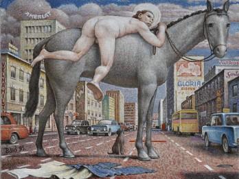 Kim? Laikmetīgās mākslas centrs Ņujorkā atklāj Zanes Onckules veidoto izstādi