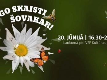 """20. jūnijā laukumā pie VEF Kultūras pils notiek """"Līgo skaisti šovakar!"""""""