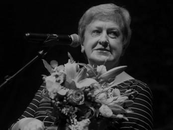 Mirusi teātra kritiķe Silvija Radzobe