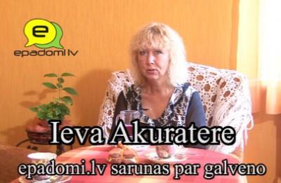Video: No Epadomi arhīviem. Videointervija ar dziedātāju Ievu Akurateri