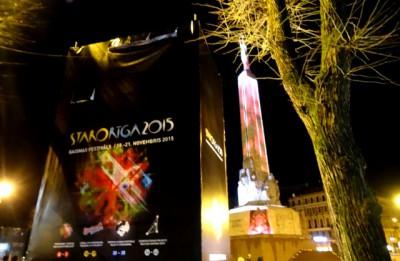 """Gaismas festivāls """"Staro Rīga 2015"""" ir noslēdzies. Noskaidroti skatītāju iemīļotākie objekti"""