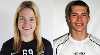 Sporta Punkts mēneša spēlētāji – Muravska un Blumfelds