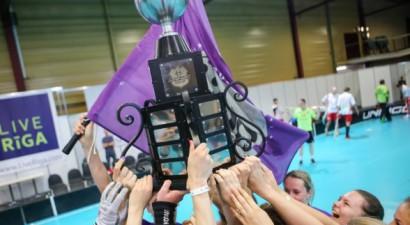 "Startē starptautiskais florbola turnīrs ""Unihoc Riga Cup 2018"""