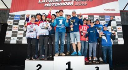 Pazīstamais igaunis Leoks kļūst par Latvijas čempionu motokrosā MX1 klasē