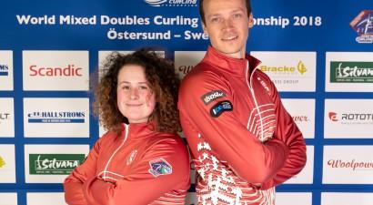 Pirmajās Lieldienās Latvijas jauktais pāris uzsāks dalību pasaules kērlinga čempionātā