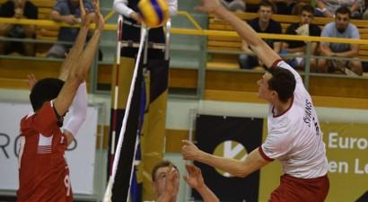 Latvijas volejbolistiem zaudējums pret Turciju Zelta līgas noslēgumā