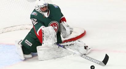 Rekordists Biļalovs tiek atzīts par KHL nedēļas labāko vārtsargu