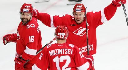 """Daugaviņam 2+1, Karsums rezultatīvi atgriežas """"Spartak"""" graujošā uzvarā"""