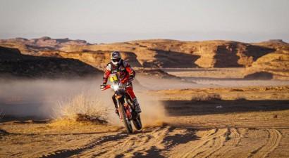 """Sanderlends Dakaras rallijā piedzīvo smagu kritienu, Vanags paceļas uz """"Top 10"""""""