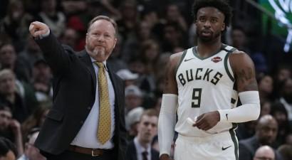 NBA treneri par labākajiem šosezon atzīst Budenholceru un Donovanu