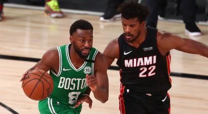 """Hero rekords, """"Heat"""" nonāk vienas uzvaras attālumā no NBA fināla"""