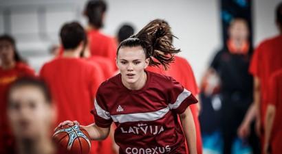 Anete Šteinberga novembrī atgriezīsies Latvijas valstsvienībā