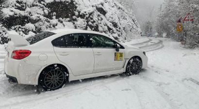 Sniegs pārsteidz Moncas WRC dalībniekus, rallijā varēs izmantot ziemas riepas