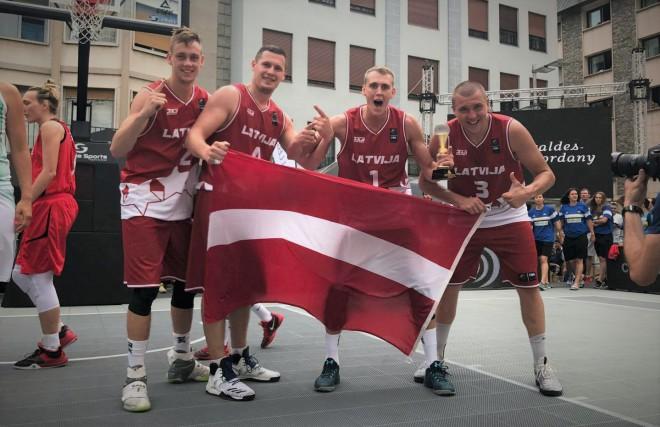 Latvijas 3x3 izlases basketbolisti uzvar Eiropas kausa kvalifikācijas turnīrā