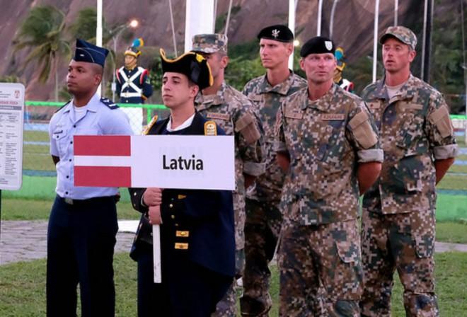 Latvijas pārstāvji izcīna piekto vietu PČ karavīriem