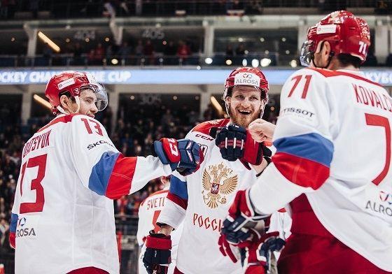 Krievijas izlasē 25 no 27 iekļautajiem spēlētājiem pārstāv SKA vai CSKA