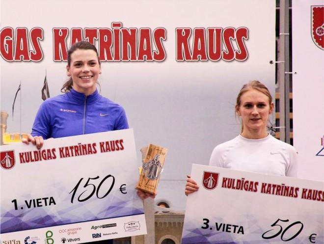 Bukša un Latiševa-Čudare spēkosies 100 metros Minskā