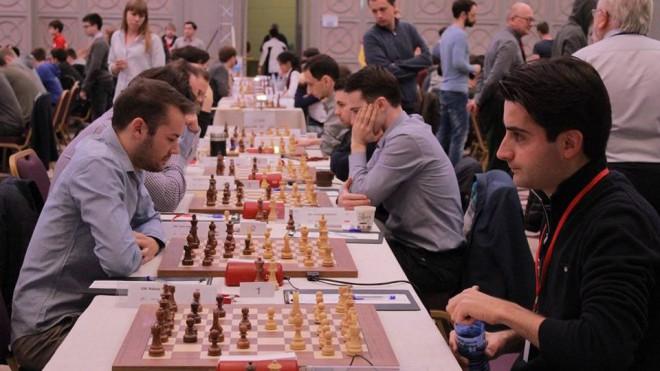 Šahisti Kovaļenko un Kantāns uzvar EČ septītās kārtas cīņās