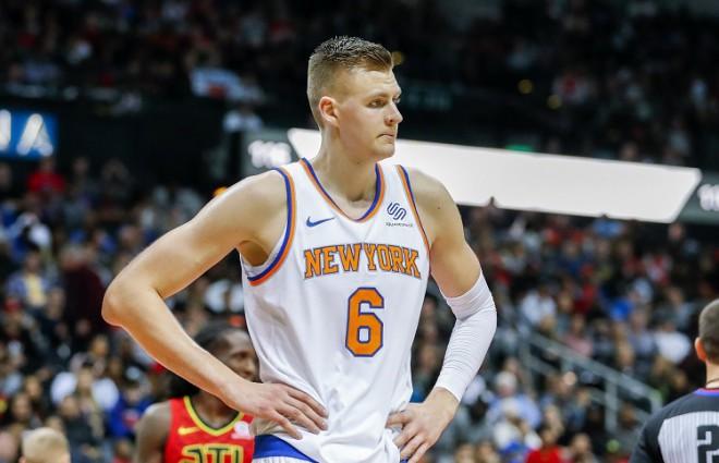 """""""Knicks"""" nav sākusi sarunas ar Porziņģi par jauna līguma noslēgšanu"""