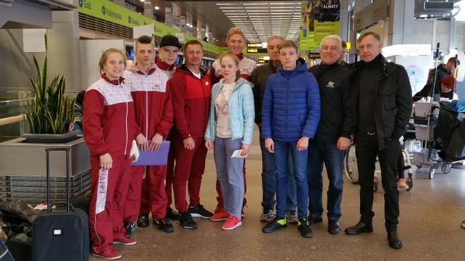 Latvijas U19 boksa izlase devusies uz Eiropas čempionātu Itālijā