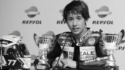 """Barselonas trasē gājis bojā 14 gadus vecs """"Moto3"""" braucējs"""