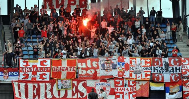 """""""Crvena Zvezda"""" Rīgā atbalstīs ap 300 līdzjutējiem"""