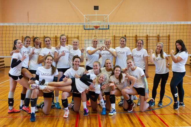 Latvijas sieviešu volejbola izlase tiksies ar Igauniju