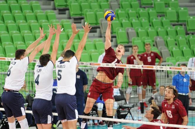 Latvijas volejbola izlase devusies uz Portugāli