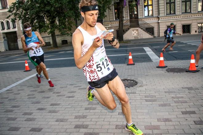 Grosberga un trīs vīri Rīgā tiek PČ orientēšanās sprinta finālā