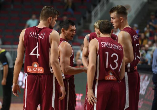 Teksta tiešraides arhīvs: Latvija uzvar Eiropas čempioni Slovēniju