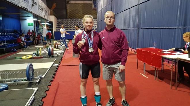 Svarcēlāja Ivanova neiekļaujas svarā un zaudē cerības uz medaļu jaunatnes olimpiādē