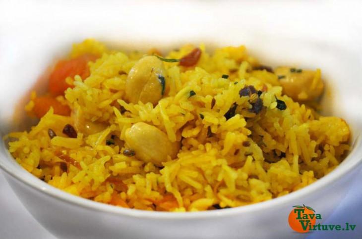 Basmati rīsi indiešu gaumē