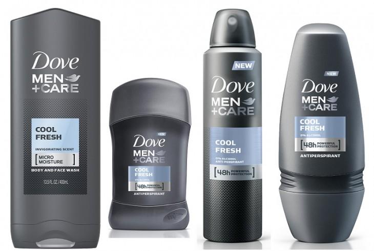 Dove iepazīstina ar jaunu Men+Care produktu līniju Cool Fresh