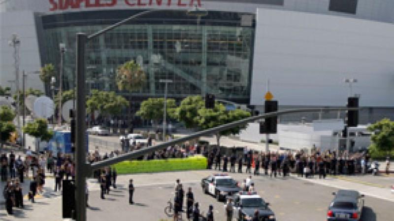 """Losandželosas """"Staples Center"""" Foto: AP/Scanpix"""
