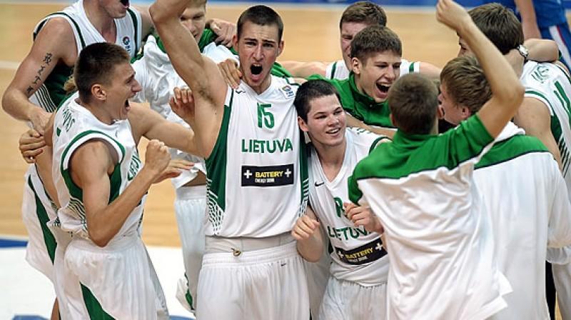 Lietuvas 1992. gadā dzimušo spēlētāju paaudze no 2008. gada starptautiskajās spēlēs izcīnījusi tikai uzvaras Foto: Irmantas Sidarevičius, www.fibaeurope.com