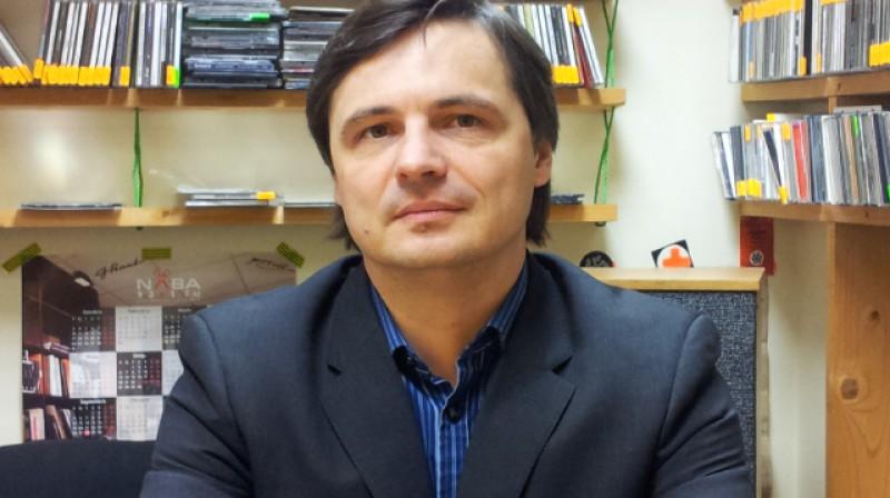 Virslīgas izpilddirektors Normunds Malnačs. Foto: Raidījums OLE