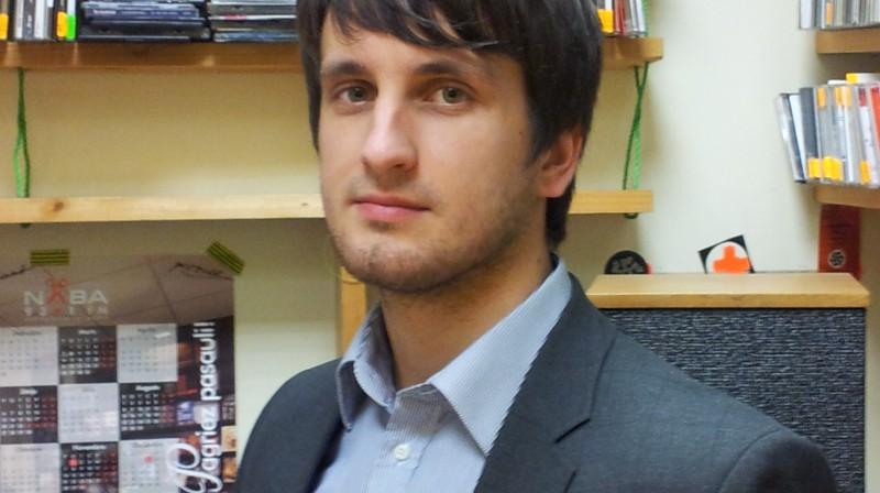 LFF ģenerālsekretāra vietnieks Edgars Pukinsks. Foto: Raidījums OLE