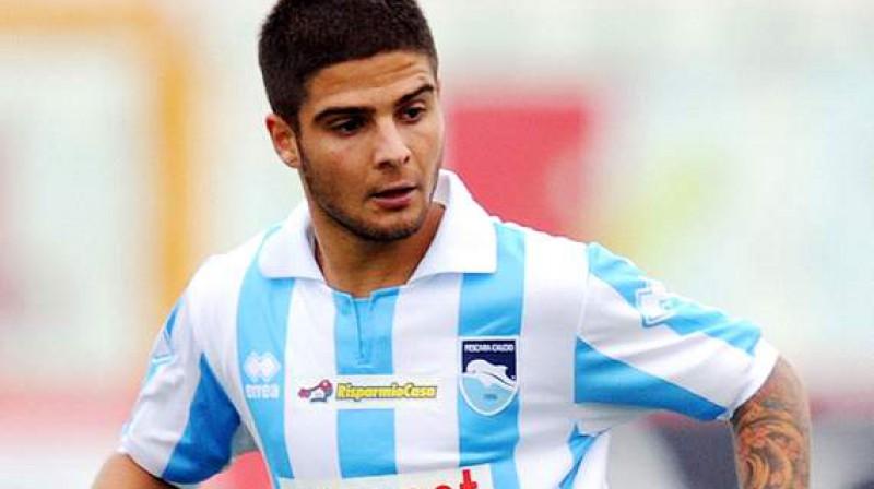 """""""Pescara"""" uzbrucējs Lorenco Insigne Foto: www.goal.com"""