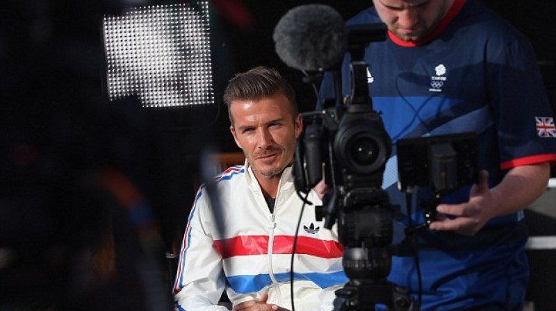 Deivids Bekhems iejūtas režisora lomā Foto: dailymail.co.uk