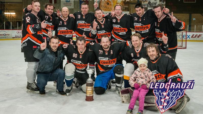 2014./15. gada sezonas ZAHL 2.līgas kausa ieguvēji- HK Ledgrauži/Sportacentrs.com