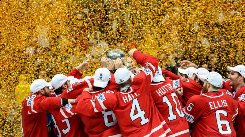 Kanādiešu prieki Foto: SIPA USA/Scanpix